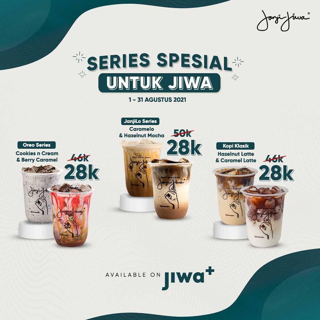 Promo diskon Kopi Janji Jiwa Promo Shopeepay Online Deals Cashback 70%