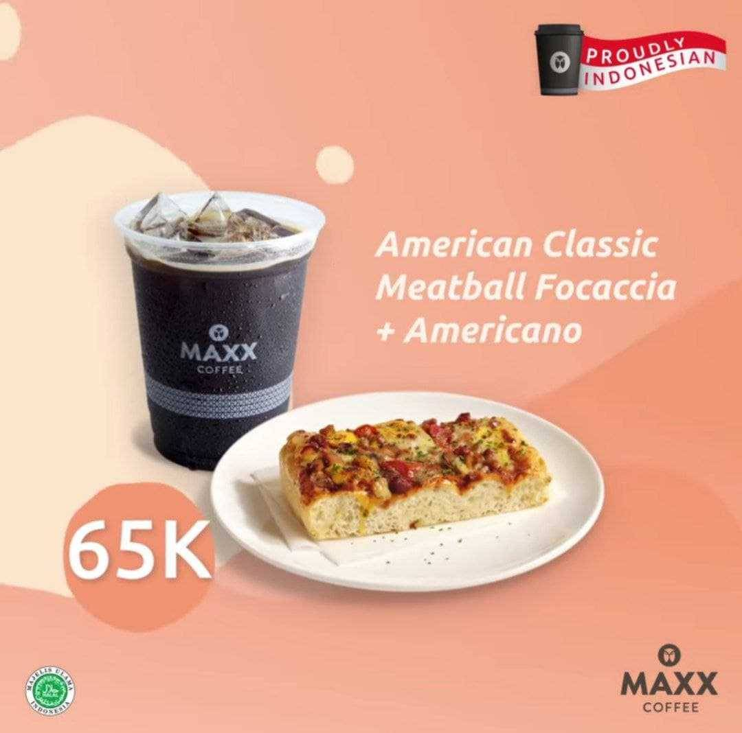 Promo diskon Maxx Coffee Promo Breakfast Package Mulai Dari Rp. 45.000