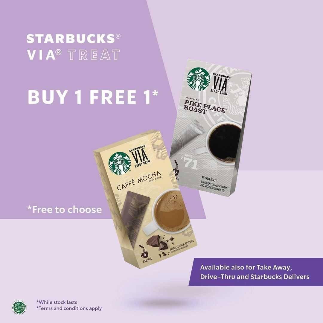 Promo diskon Starbucks Promo Twice The Fun 2 Iced Creme Brulee Latte Hanya Rp. 50.000