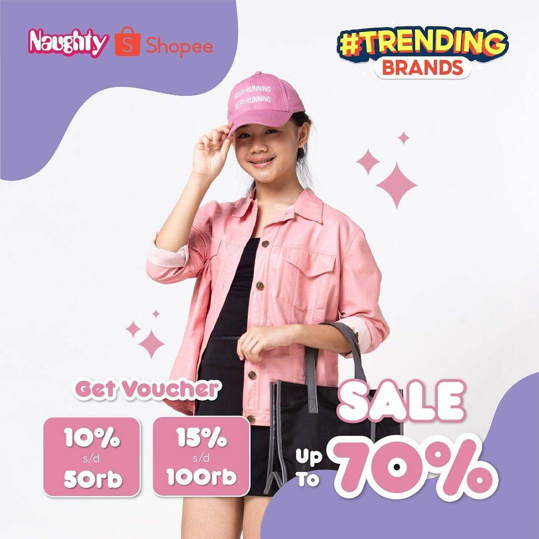 Diskon Naughty Sale Up To 70% Off On Shopee