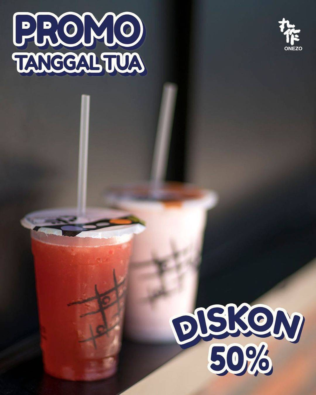 Diskon Onezo Promo Tanggal Tua Diskon 50%
