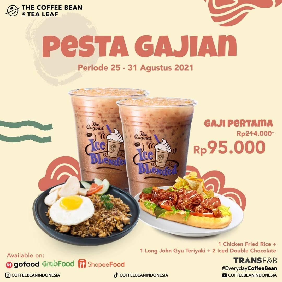 Diskon The Coffee Bean & Tea Leaf Promo Pesta Gajian