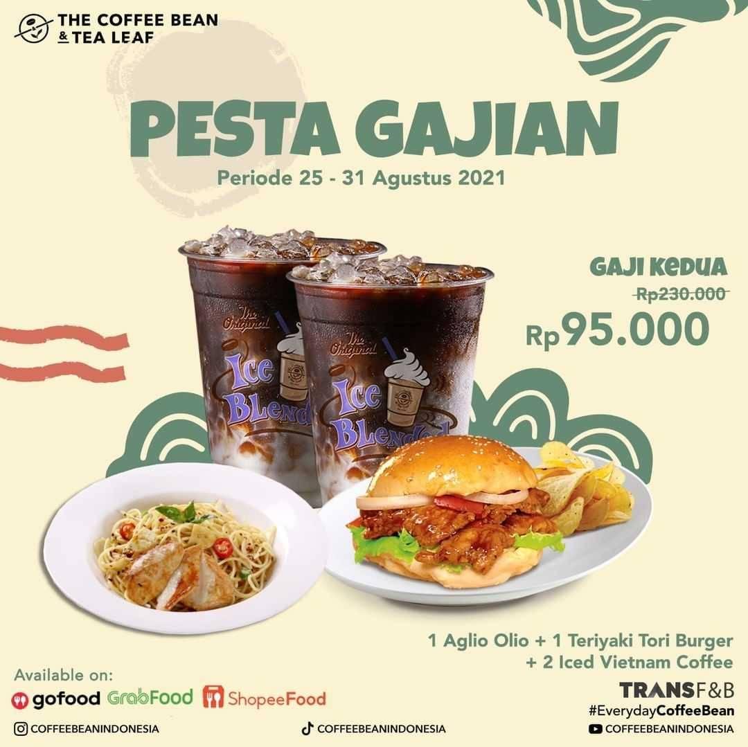 Promo diskon The Coffee Bean & Tea Leaf Promo Pesta Gajian