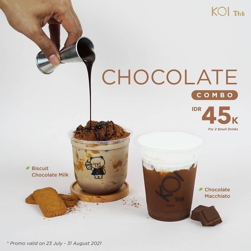 Diskon Koi Cafe Promo Chocolate Combo Hanya Rp. 45.000