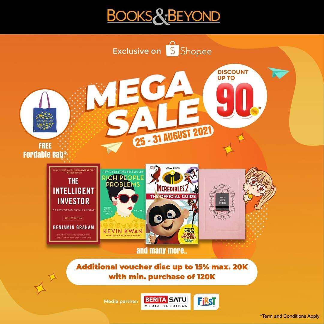 Diskon Books & Beyond Discount Up To 90% Off On Shopee