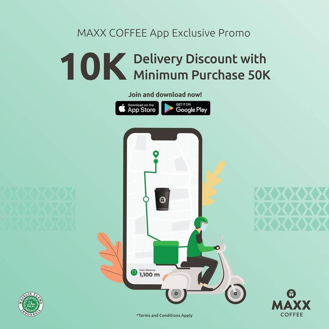 Diskon Maxx Coffee Promo App Exclusive