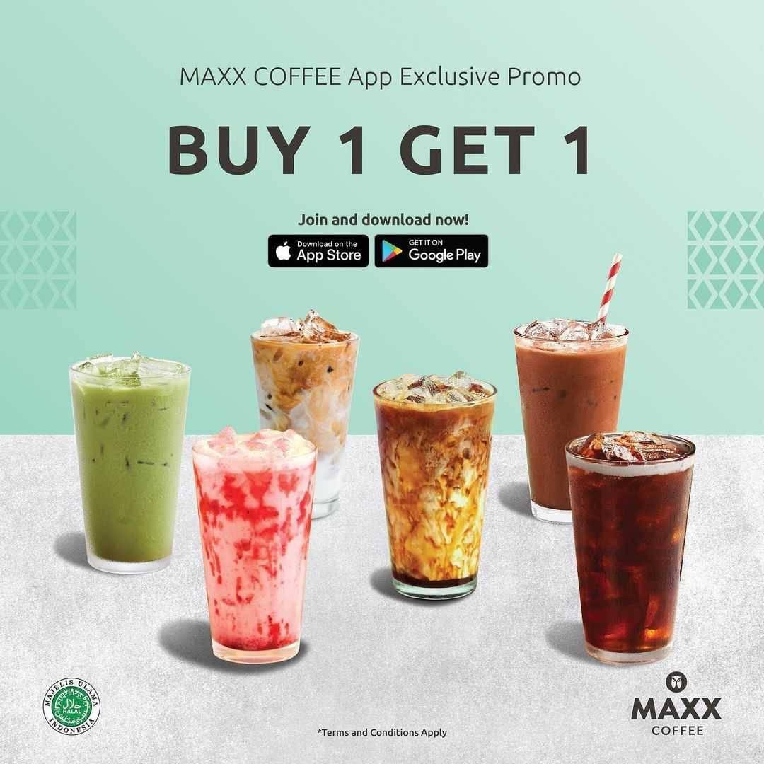 Promo diskon Maxx Coffee Promo App Exclusive