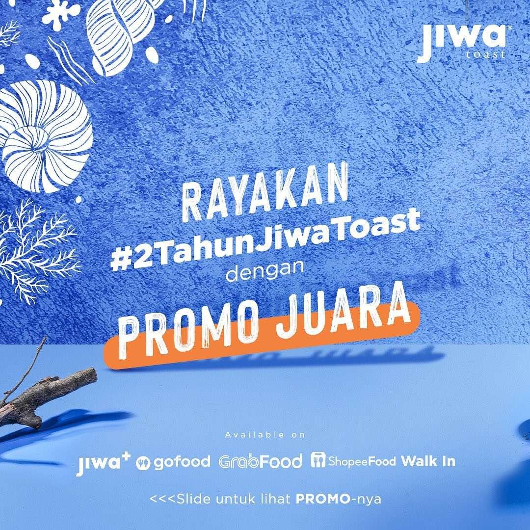 Diskon Jiwa Toast Promo Shrimp Series