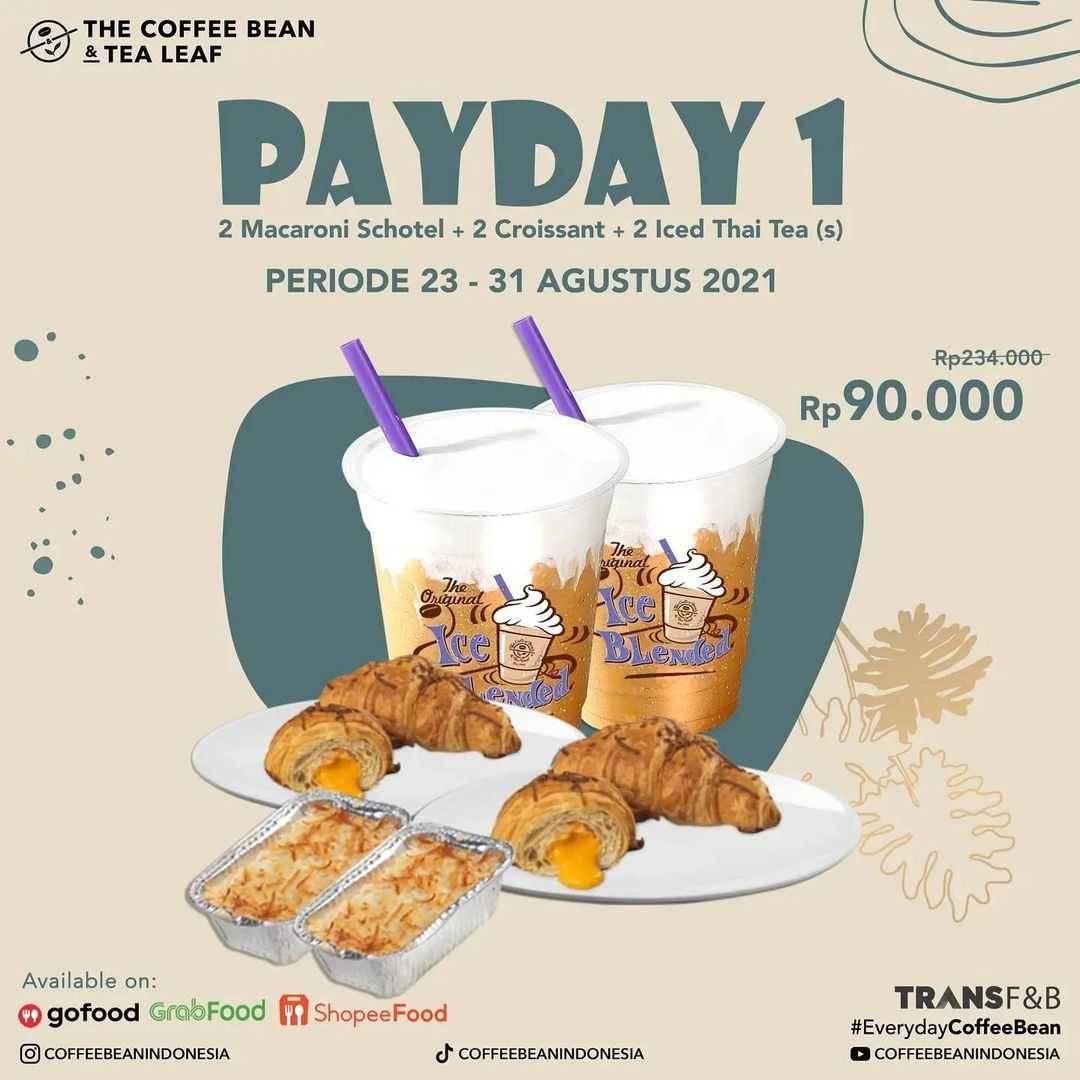 Promo diskon The Coffee Bean & Tea Leaf Promo Payday
