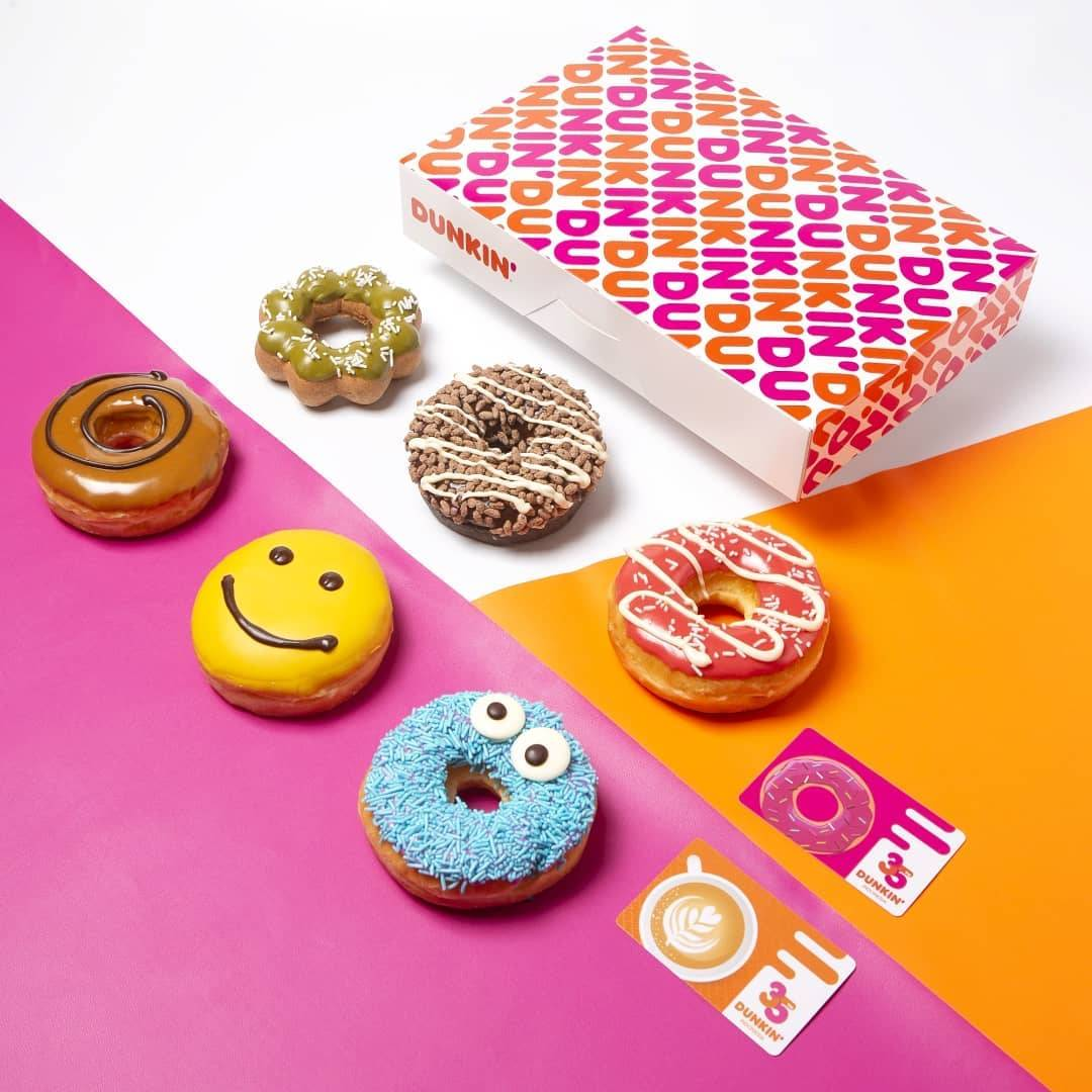 Diskon Dunkin Donuts Buy 6 Get 6 Free Donuts With DD Card