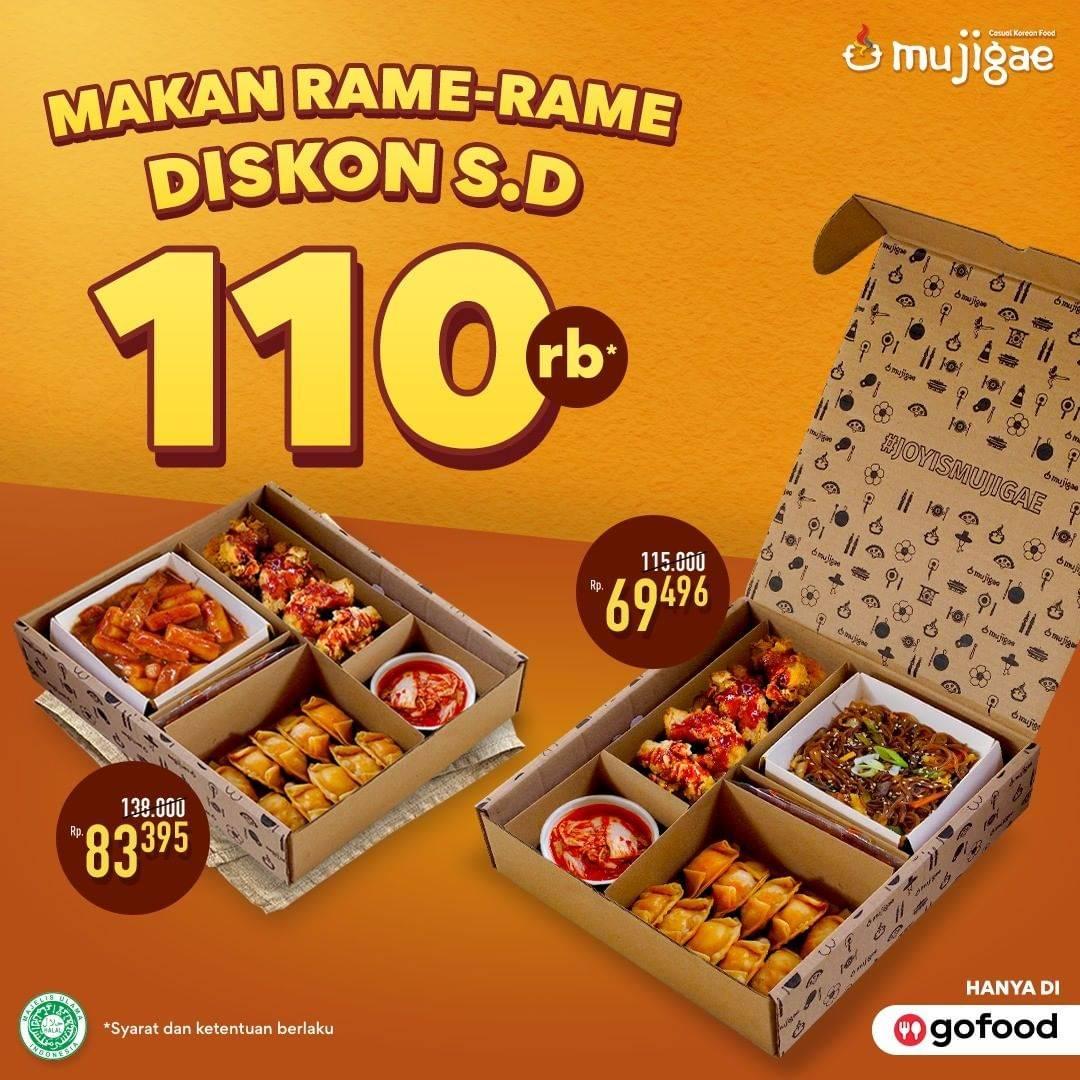 Diskon Mujigae Promo Party Pack Diskon Hingga Rp. 110.000