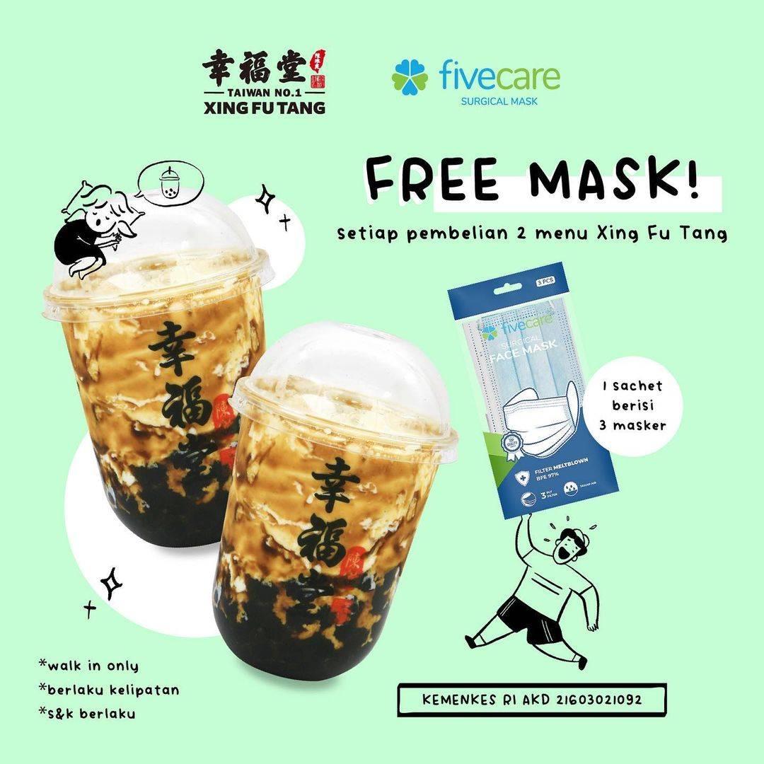 Diskon Xing Fu Tang Beli 2 Menu Gratis 1 Sachet Masker Fivecare