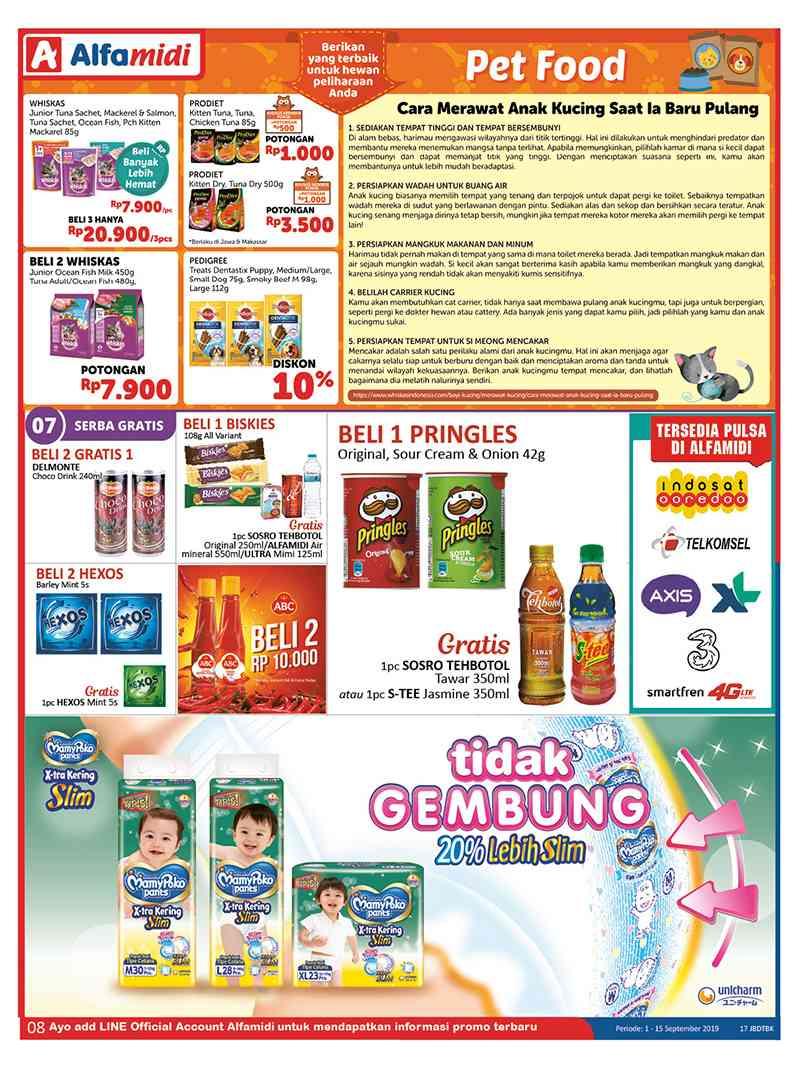 Promo diskon Katalog ALFAMIDI promo periode 01-15 September 2019