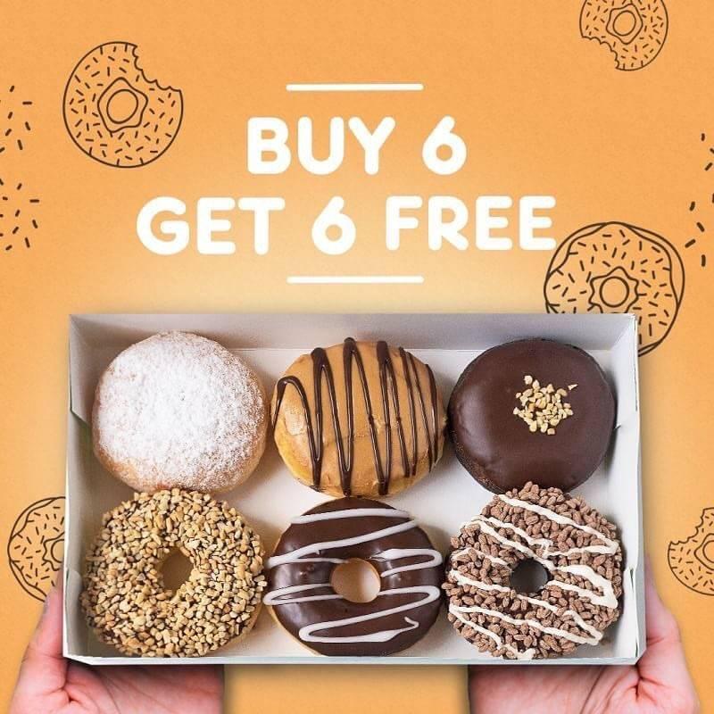 Dunkin Donuts Promo Beli 6 Gratis 6 dengan Kupon LINE