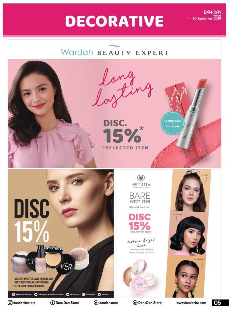 Promo diskon Katalog Promosi Dan+Dan Periode 1-30 September 2019