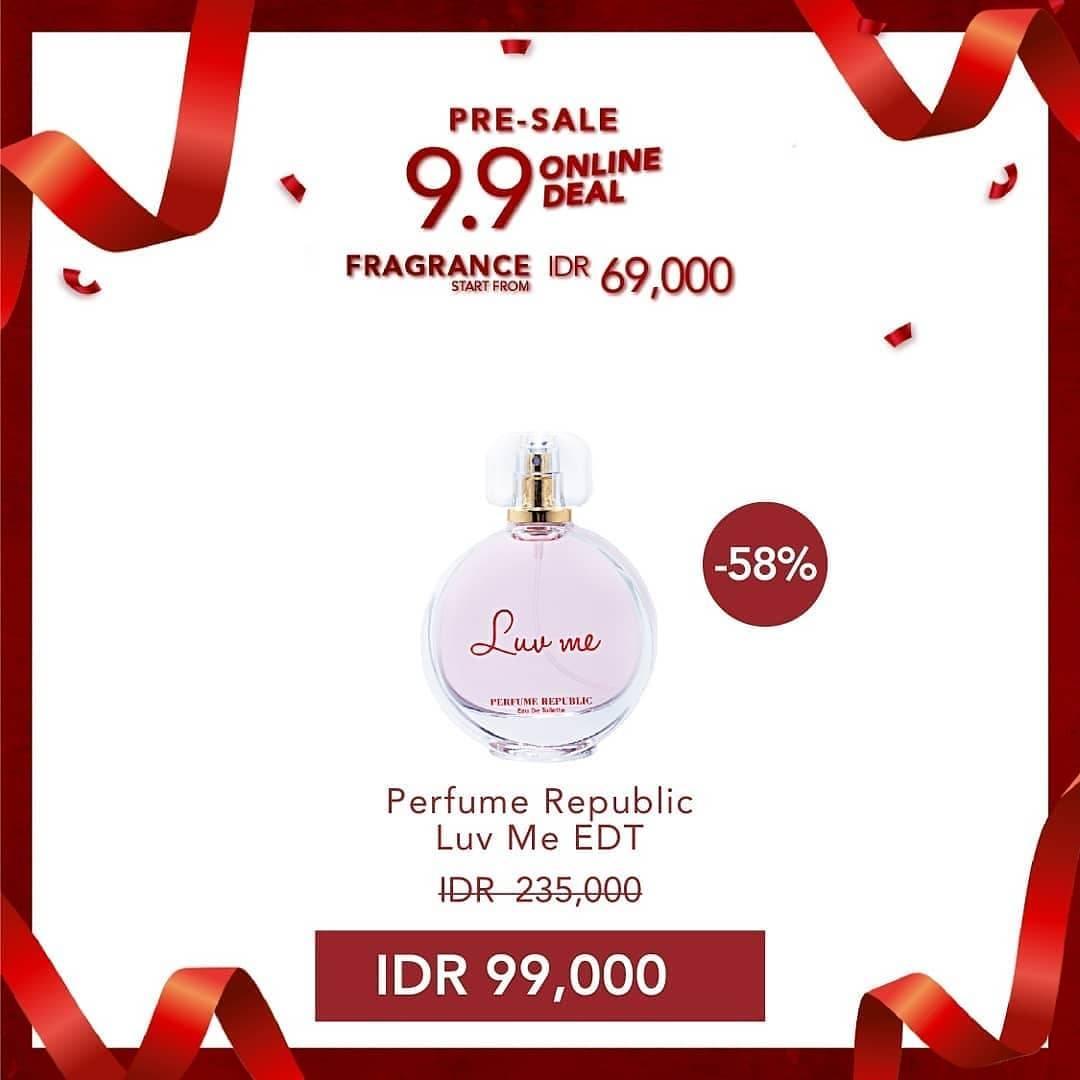 Promo diskon C&F Perfumery Pre-Sale 9.9 Online Deal mulai Rp. 69.000