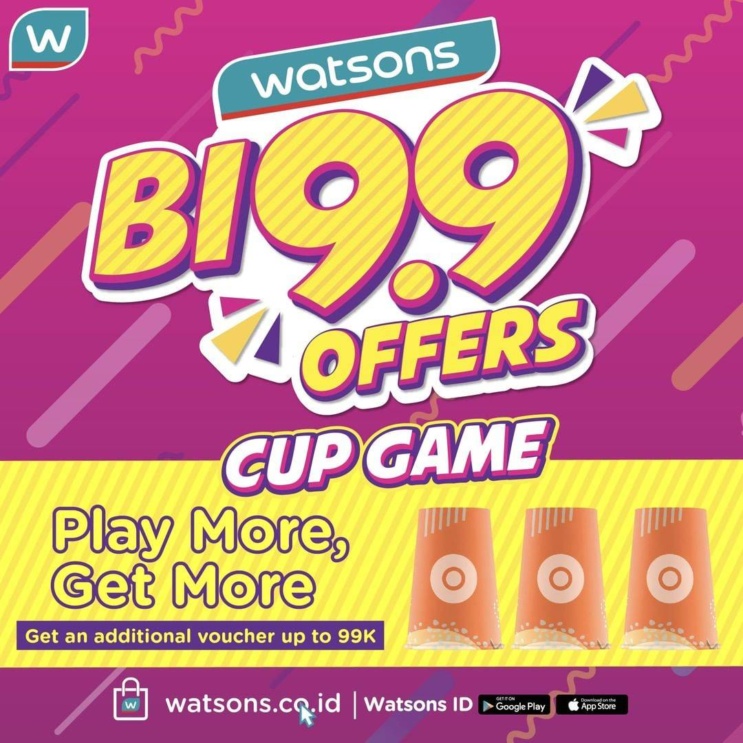 WATSONS Bi99 OFFERS