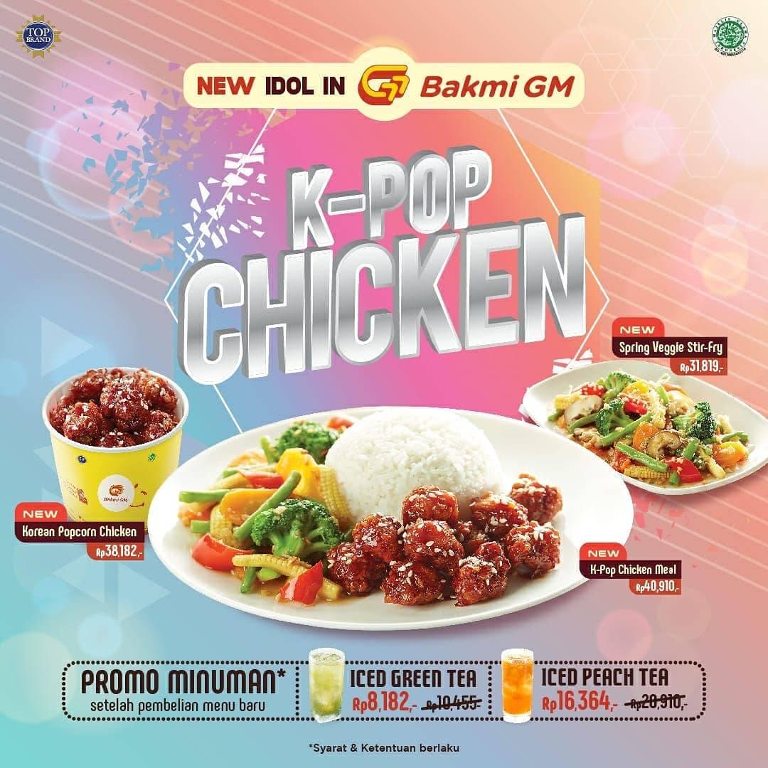 Bakmi GM Promo Menu Terbaru K-Pop Chicken Mulai Rp. 31.000an