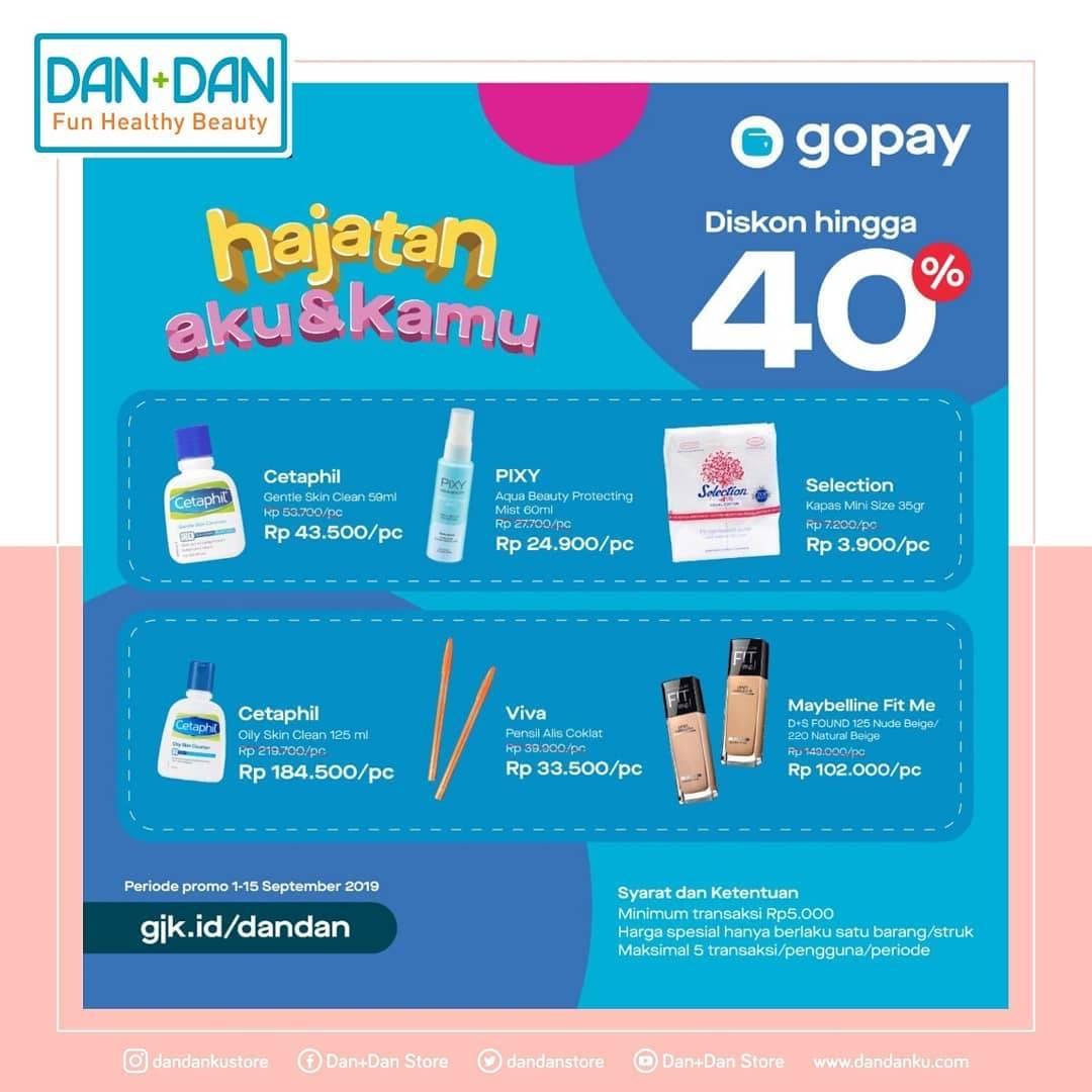 Dan+Dan Store Promo Gopay Hajatan