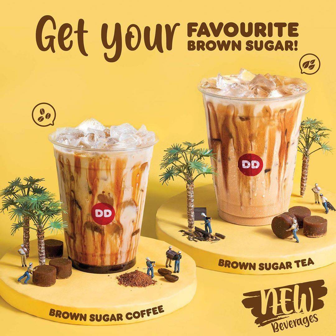 Dunkin Donuts Promo Menu Baru Brown Sugar