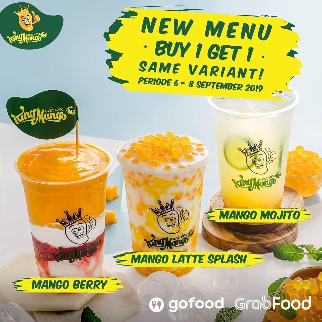 Diskon King Mango Promo Beli 1 Gratis 1 untuk Menu Baru