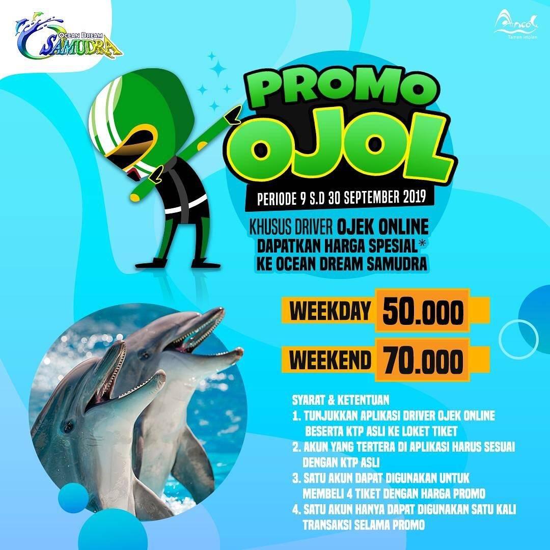Ocean Dream Samudra Promo Harga Spesial mulai dari Rp. 50.000