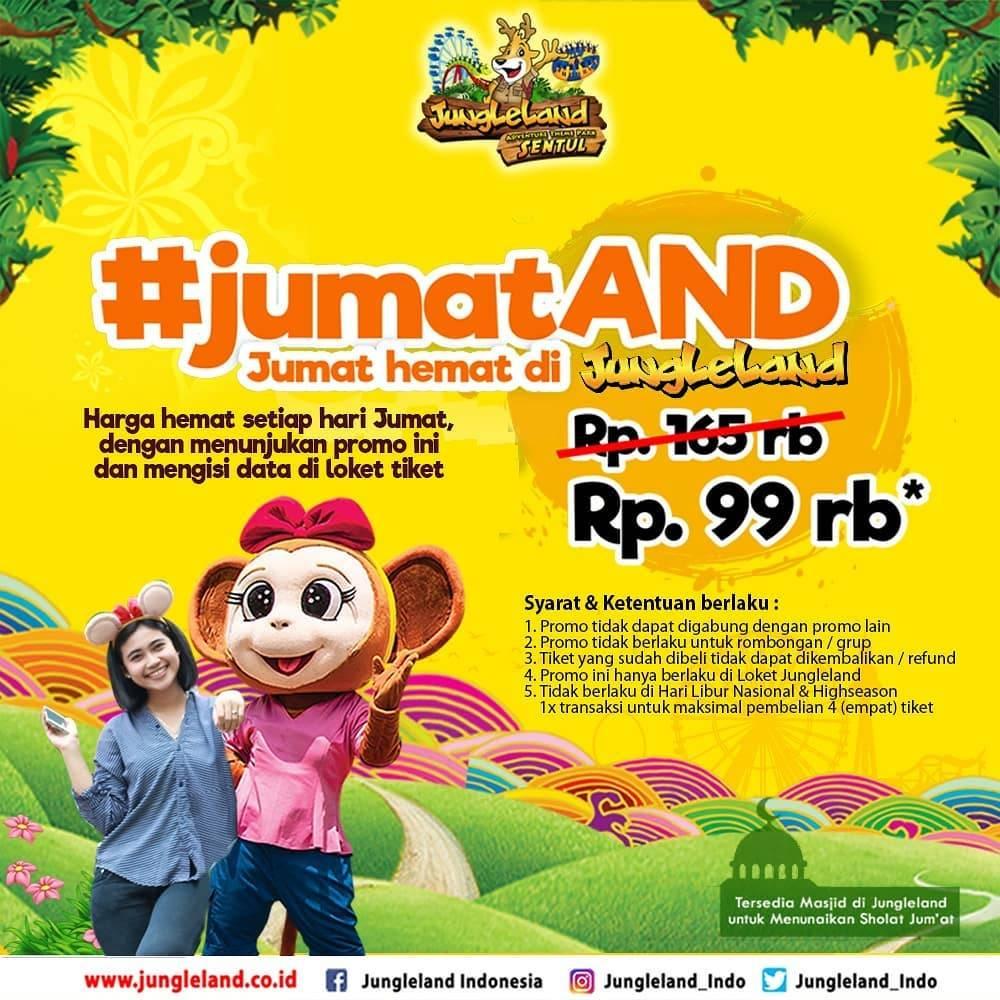Diskon Jungleland Promo Tiket Hemat di Hari Jumat