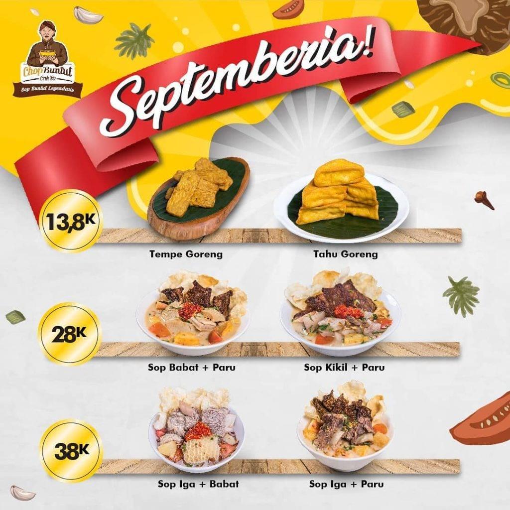 Diskon Chop Buntut Cay Yo Promo Septemberia Harga Mulai 28K