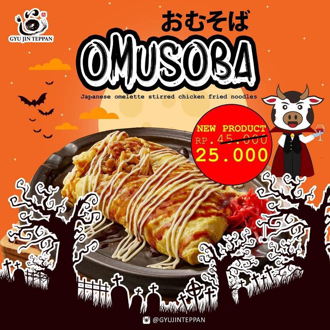 Gyu Jin Teppan Special Menu Omusoba cuma Rp. 25.000