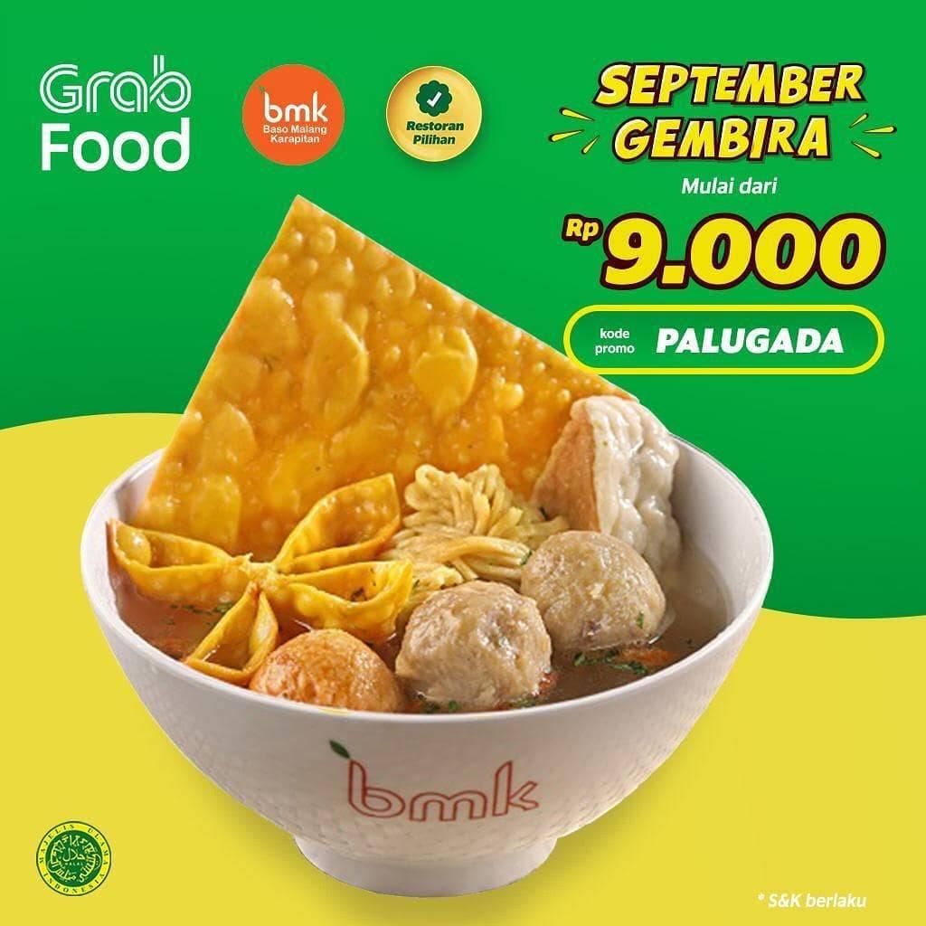 BMK Resto Promo Spesial Grabfood, Makan Murah Meriah Mulai Rp. 9 Ribuan