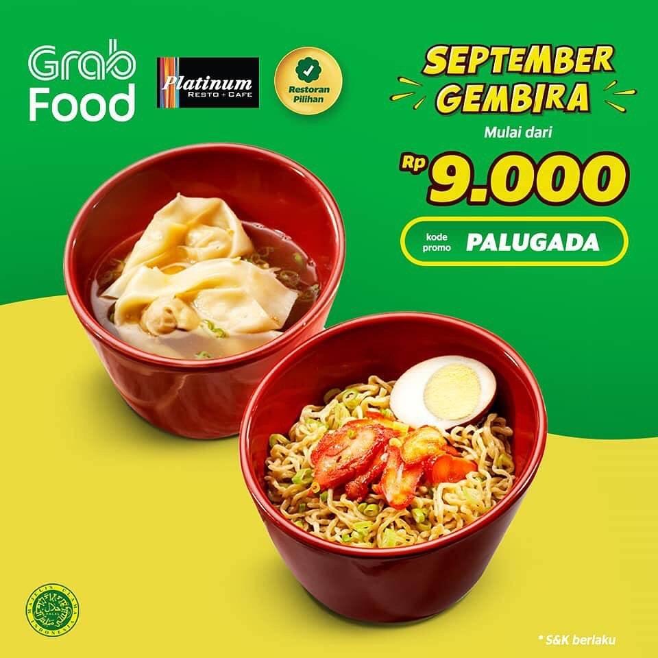 Platinum Resto Promo Menu Hemat Diskon 50% Di Grabfood