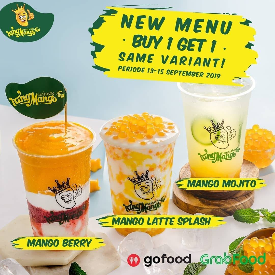 King Mango Surabaya Promo New Menu Buy 1 Get 1 Same Variant