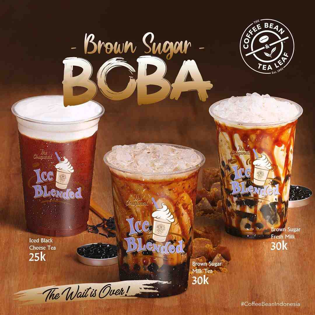 The Coffee Bean & Tea Leaf NEW Brown Sugar Boba Start From 25K