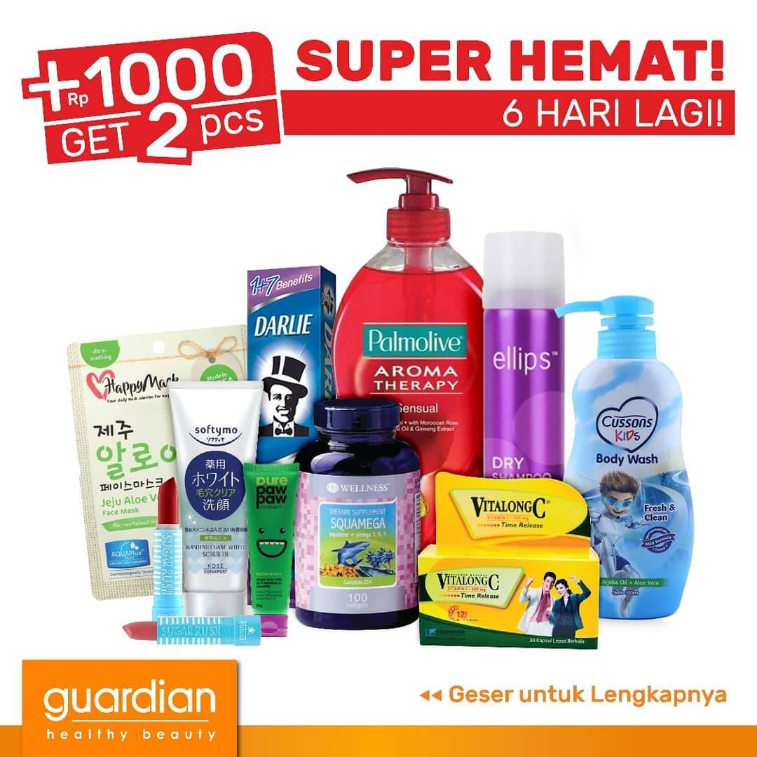 Katalog GUARDIAN Belanja dan Promosi Weekly Specials! periode 05-18 September 2019