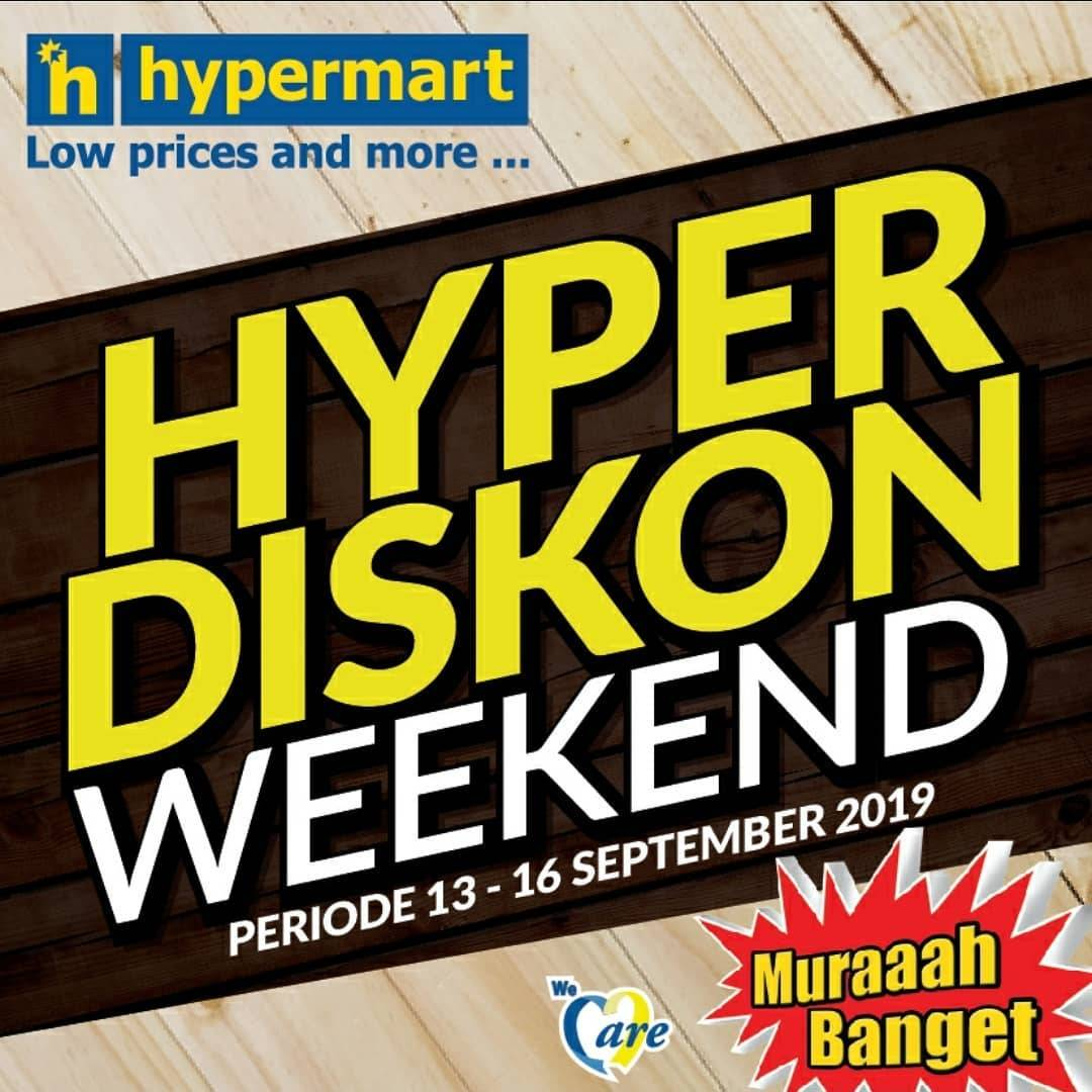 Katalog Promo HYPERMART Weekend Promo periode 13-16 September 2019