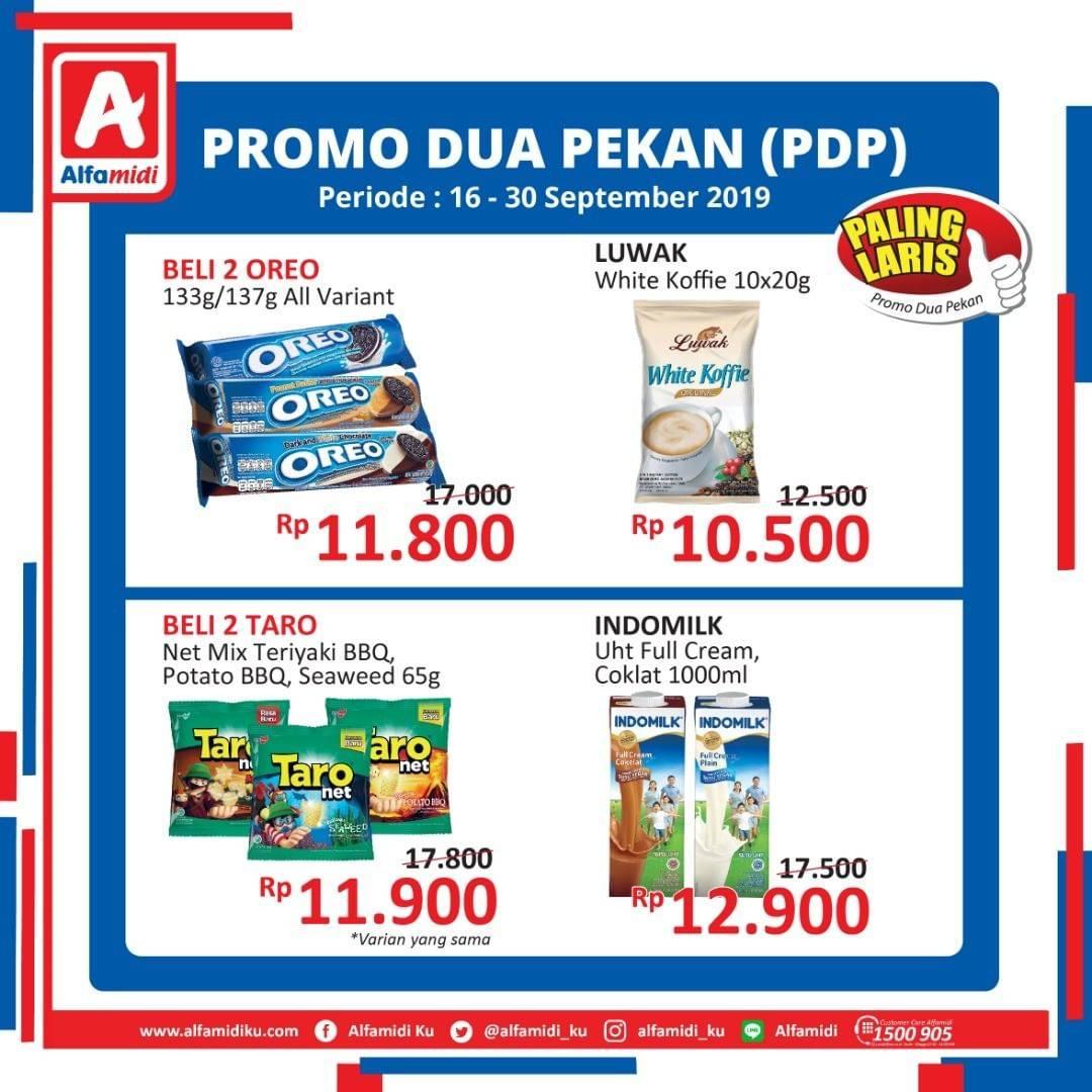 Katalog ALFAMIDI promo periode 16-30 September 2019