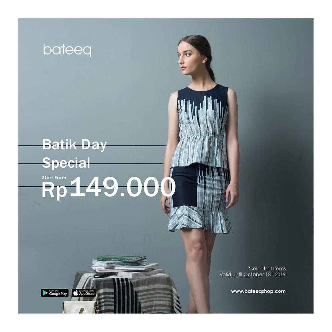 Bateeq Promo Batik Day Special Price start from Rp. 149.000