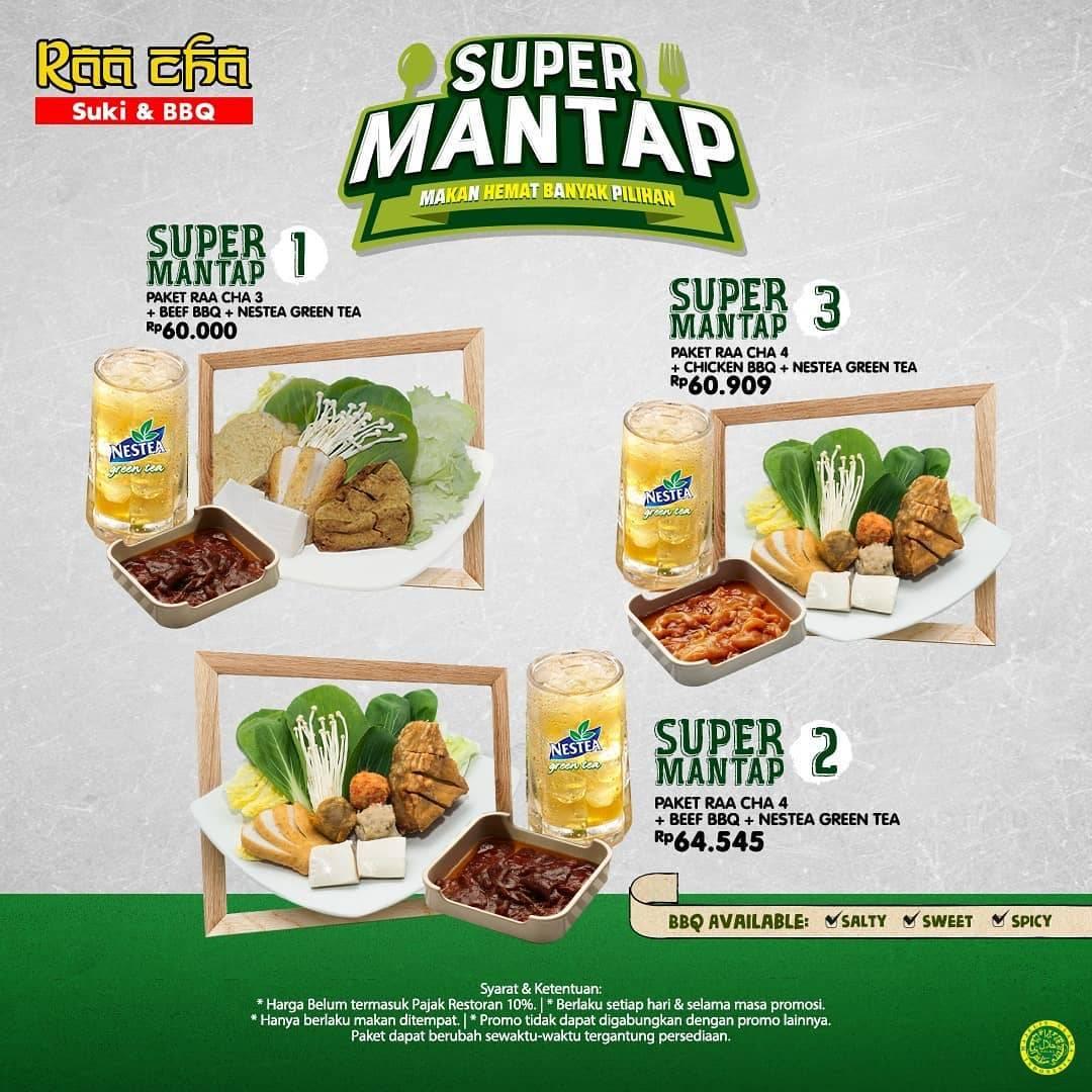 Diskon RAA CHAA Suki & BBQ Promo Super Mantap – Harga mulai Rp. 60.000