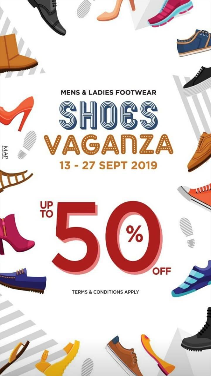 Diskon SOGO Department Store SHOES VAGANZA – Men and Ladies Footwear up to 50% off