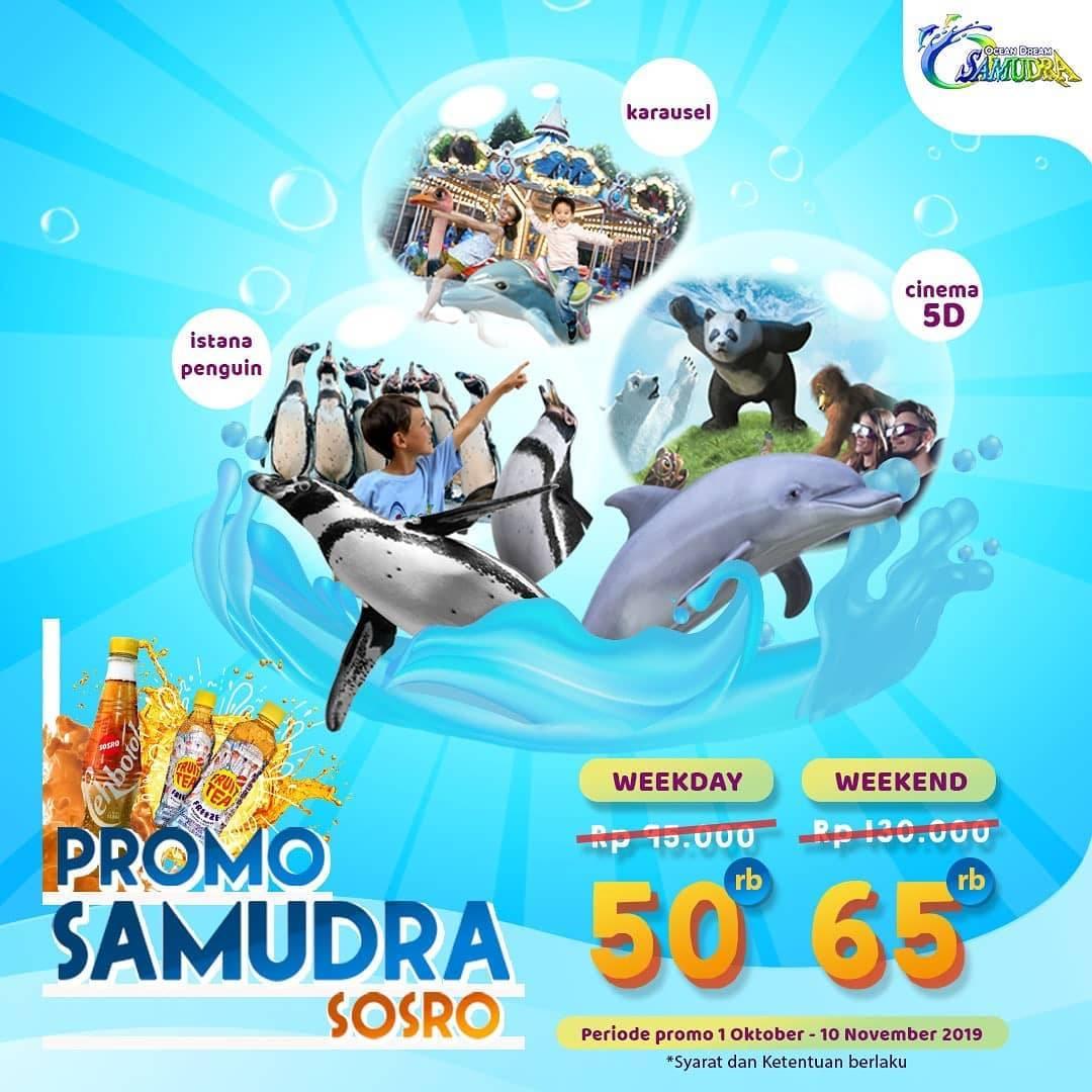 Ocean Dream Samudra Promo Spesial Harga Tiket dengan Pembelian Produk Sosro