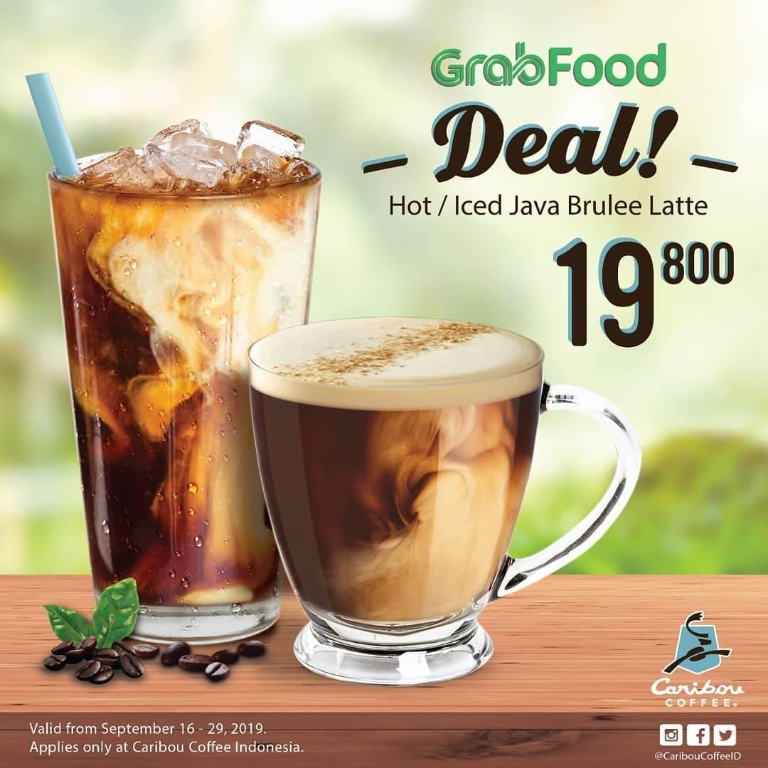 Diskon Caribou Coffee Harga Spesial Menu Pilihan khusus pemesanan via GRABFOOD