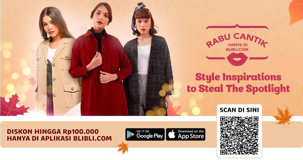 Diskon BLIBLI.COM Promo Ekstra Diskon up to 15% untuk Produk dan Aksesoris Wanita!