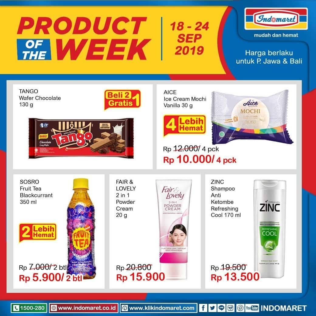 Diskon Promo INDOMARET Katalog Super Hemat periode 18-24 September 2019
