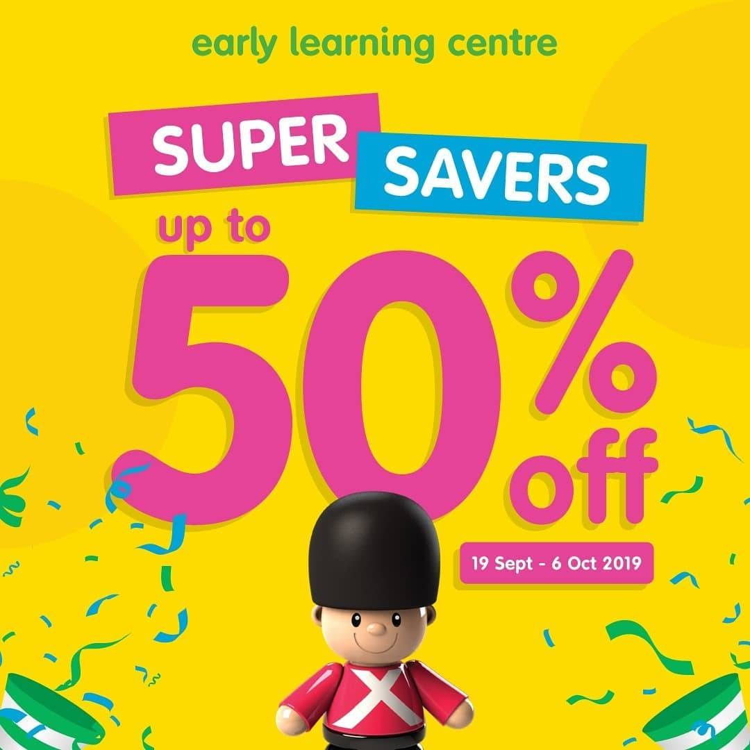 Diskon ELC SUPER SAVERS Discount up to 50% off