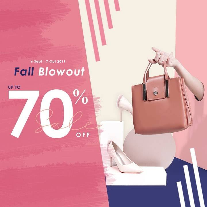 EVB Fall Blowout Sale up to 70% off