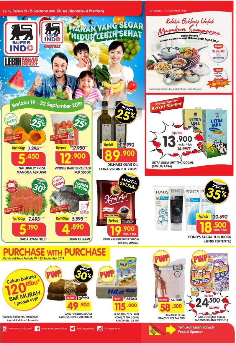 Katalog SUPERINDO Terbaru Periode 19-25 September 2019