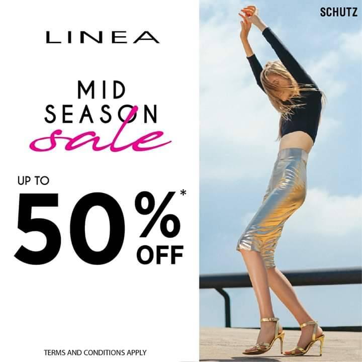 Diskon LINEA Mid Season Sale Discount Up To 50% Off*