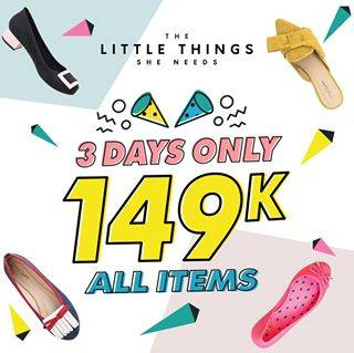 Diskon The Little Things She Needs Promo All Items Only 149.000