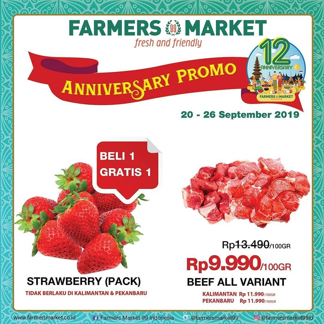 Katalog FARMERS MARKET Promo Weekend periode 20-26 September 2019