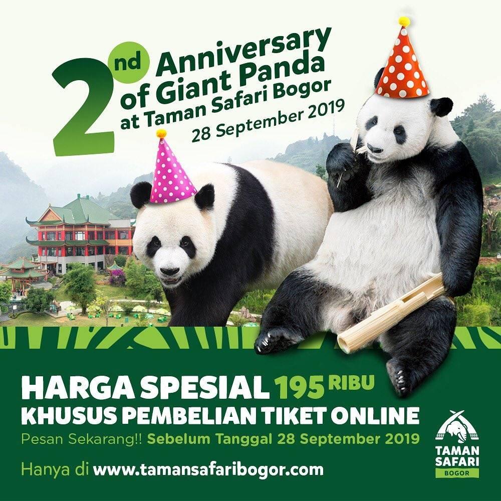 Taman Safari Bogor Promo Harga Spesial Tiket Masuk Hanya Rp. 195.000